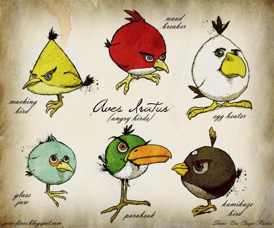 Создан мультфильм по мотивам игры Angry Birds